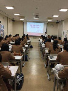 産業看護師さんの講義